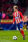 Augusto Matias Fernandez of Atletico de Madrid runs with the ball during the UEFA Champions League 2017-18 match between Atletico de Madrid and AS Roma at Wanda Metropolitano on 22 November 2017 in Madrid, Spain. Photo by Diego Gonzalez / Power Sport Images