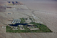aerial photograph of Desert Center, Riverside County, California