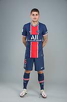 14th October 2020, Paris, France; Official League 1 player portrait for Paris Saint Germain;  VERRATTI Marco