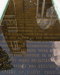Tomb of Thomas, Sixth Lord Fairfax, and Christ Church at Winchester Virginia.  © Rick Collier