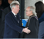 Sir Alex Ferguson leaving the service