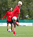 15.06.2011, Steinbergstadion, Leogang, AUT, FIFA WOMENS WORLDCUP 2011, PREPERATION, USA, im Bild Megan Rapinoe, (USA, #15) während eines Trainings zur Vorbereitung auf die FIFA Damen Fussball Weltmeisterschaft 2011 in Deutschland // during a Trainingssession for the FIFA Women´s Worldcup 2011 in Germany, on 2011/06/15, Steinberg Stadium, Leogang, Austria, EXPA Pictures © 2011, PhotoCredit: EXPA/ J. Feichter