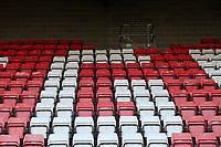 General view of the ground during Dagenham & Redbridge vs Weymouth, Vanarama National League Football at the Chigwell Construction Stadium on 14th September 2021