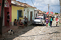27/07/18<br /> <br /> Typical Cuban street scene.<br /> <br /> Trinidad, Cuba.<br /> <br /> All Rights Reserved, F Stop Press Ltd. (0)1335 344240 +44 (0)7765 242650  www.fstoppress.com rod@fstoppress.com