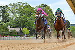 HOT SPRINGS, AR - APRIL 14:Oaklawn Handicap.  Oaklawn Park on April 14, 2018 in Hot Springs,Arkansas. (Photo by Ted McClenning/Eclipse Sportswire/Getty Images)