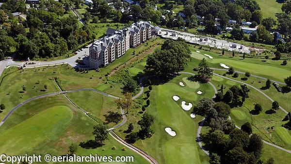 aerial photograph Audubon Country Club, Louisville, Kentucky