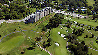 aerial photograph Audubon Country Club, Louisville, Kentucky