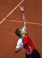 08-07-13, Netherlands, Scheveningen,  Mets, Tennis, Sport1 Open, day one,Stephan Fransen (NED)<br /> <br /> <br /> Photo: Henk Koster