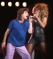 Mick Jagger Tina Turner 1986<br /> Photo By John Barrett/PHOTOlink.net /MediaPunch