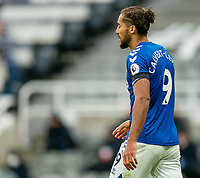 1st November 2020; St James Park, Newcastle, Tyne and Wear, England; English Premier League Football, Newcastle United versus Everton; Dominic Calvert-Lewin of Everton expression after a near miss against Newcastle United in the second half