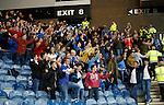 St Johnstone fans celebrate going 2 up