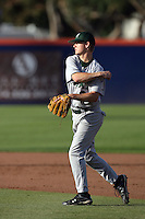 March 27, 2010: Jesse Moore of Hawaii during game against Cal. St. Fullerton at Goodwin Field in Fullerton,CA.  Photo by Larry Goren/Four Seam Images