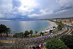 The start of Stage 1 of Tour de France 2020, running 156km from Nice Moyen Pays to Nice, France. 29th August 2020.<br /> Picture: Bora-Hansgrohe/BettiniPhoto | Cyclefile<br /> All photos usage must carry mandatory copyright credit (© Cyclefile | Bora-Hansgrohe/BettiniPhoto)