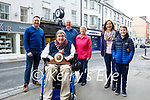 Cllr: Terry O'Brien, Mayor of Tralee at the installing of the clock at Nolan/Hilsers Jewellers on Sunday morning. Front: Cllr: Terry O'Brien, Mayor of Tralee. L to r: , Will, Bill, Margaret and Ciara Nolan and Adam Lunn