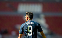 GUADALAJARA, MEXICO - MARCH 18: Jesus Ferreira #9 of the United States during a game between Costa Rica and USMNT U-23 at Estadio Jalisco on March 18, 2021 in Guadalajara, Mexico.