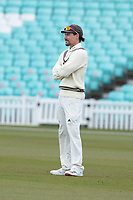 Rory Burns of Surrey CCC during Surrey CCC vs Hampshire CCC, LV Insurance County Championship Group 2 Cricket at the Kia Oval on 1st May 2021
