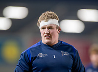 12th February 2021; AJ Bell Stadium, Salford, Lancashire, England; English Premiership Rugby, Sale Sharks versus Bath;  Ross Harrison of Sale Sharks returns to the starting line up for tonight's game