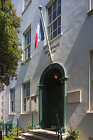 Royaume-Uni, îles Anglo-Normandes, île de Guernesey, Saint Peter Port: Hauteville House, Maison de Victor Hugo// United Kingdom, Channel Islands, Guernsey island, Saint Peter Port: Hauteville House, Victor Hugo's home