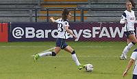 Rosella Ayane of Tottenham Hotspur shot goes wide during Tottenham Hotspur Women vs Aston Villa Women, Barclays FA Women's Super League Football at the Hive Stadium on 13th December 2020