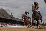 July 17, 2021: Baby Yoda #3, ridden by Jose L. Ortiz, wins race 2 (starter allowance) on Diana Day at Saratoga Race Course in Saratoga Springs, New York on July 17, 2021. Rob Simmons/Eclipse Sportswire/CSM