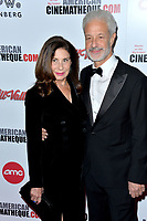 LOS ANGELES, USA. November 09, 2019: Paula Wagner & Rick Nicita at the American Cinematheque Award Gala honoring Charlize Theron at the Beverly Hilton.<br /> Picture: Paul Smith/Featureflash