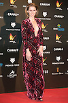 Manuela Velles attends the Feroz Cinema Awards 2015 at Las Ventas, Madrid,  Spain. January 25, 2015.(ALTERPHOTOS/)Carlos Dafonte)