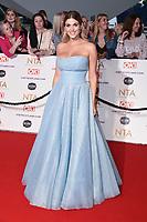 Ashley James<br /> arriving for the National Television Awards 2021, O2 Arena, London<br /> <br /> ©Ash Knotek  D3572  09/09/2021