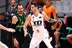 Liga ENDESA 2019/2020. Game: 07.<br /> Club Joventut Badalona vs TD Systems Baskonia: 83-82.<br /> Pau Ribas vs Luca Vildoza.