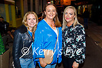 Enjoying the evening in Killarney on Saturday, l to r: Catriona Harney, Ciara Molloy and Siobhan Browne (Glenflesk).