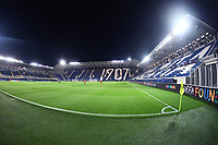 A general view of the Stadium prior to the Champions League Group Stage D  football match between Atalanta BC and Ajax Amsterdam at Atleti azzurri d Italia stadium in Bergamo (Italy), October, 27th, 2020. Photo Image Sport / Insidefoto