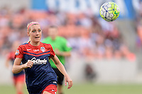 Houston, TX - Sunday Oct. 09, 2016: Megan Oyster during the National Women's Soccer League (NWSL) Championship match between the Washington Spirit and the Western New York Flash at BBVA Compass Stadium. The Western New York Flash win 3-2 on penalty kicks after playing to a 2-2 tie.