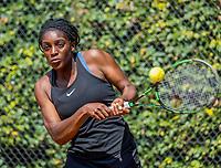 Hilversum, Netherlands, August 9, 2017, National Junior Championships, NJK, Sylvia Okafor<br /> Photo: Tennisimages/Henk Koster