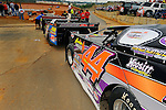 Jul 4, 2009; 7:56:48 PM; Bulls Gap, TN., USA; The Lucas Oil Late Model Dirt Series running a 10,000 to win race at Volunteer Speedway.  Mandatory Credit: (thesportswire.net)
