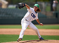 Community School of Naples Seahawks pitcher Cooper Smith (14) during the 42nd Annual FACA All-Star Baseball Classic on June 6, 2021 at Joker Marchant Stadium in Lakeland, Florida.  (Mike Janes/Four Seam Images)