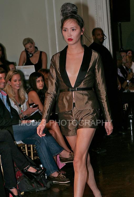Celestino by Sergio Guadarrama Womens Collection Spring 2010 New York Fashion Week Bernard Passman jewlery