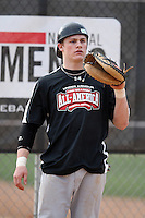 January 17, 2010:  Timothy (Tim) Rausch (Polson, MT) of the Baseball Factory Northwest Team during the 2010 Under Armour Pre-Season All-America Tournament at Kino Sports Complex in Tucson, AZ.  Photo By Mike Janes/Four Seam Images