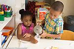 Education Preschool 3-4 year olds classroom scenes