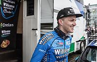 Michael Goolaerts (BEL/Willems Veranda's-Crelan), pre race<br /> <br /> 102nd Ronde van Vlaanderen 2018 (1.UWT)<br /> Antwerpen - Oudenaarde (BEL): 265km