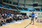 The Coaching Clinic during the Summer Super 8 at the Macao East Asian Games Dome on July 20, 2018 in Macau, Macau. Photo by Marcio Rodrigo Machado / Power Sport Images