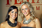 From left: Chairs Rachel Brown and Robin Reimer at the Una Notte in Italia party at the Intercontinental Houston Hotel Saturday Nov. 07,2009. (Dave Rossman/For the Chronicle)