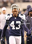 Dallas Cowboys free safety Gerald Sensabaugh (43) in action during the Thanksgiving Day game between the Miami Dolphins and the Dallas Cowboys at the Cowboys Stadium in Arlington, Texas. Dallas defeats Miami 20 to 19...