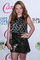 BEVERLY HILLS, CA, USA - AUGUST 09: Natalie Alyn Lind at the DigiTour and Candie's Official Teen Choice Awards 2014 Pre-Party held at The Gibson Showroom on August 9, 2014 in Beverly Hills, California, United States. (Photo by Xavier Collin/Celebrity Monitor)