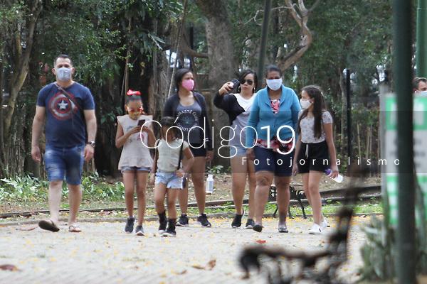 Campinas (SP), 15/08/2020 - Flexibilização-SP - Movimentação na Lagoa do Taquaral em Campinas, interior de São Paulo, neste sábado (15), primeiro dia de reabertura após o fechamento devido a pandemia.