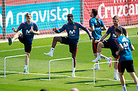 Spain's Nacho Monreal, Inaki Williams and Yeray Alvarez during training session. May 31,2018.(ALTERPHOTOS/Acero) /NortePhoto.com
