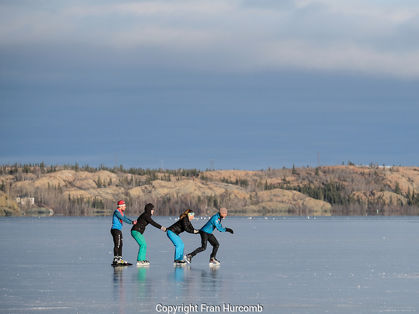 Late October in Yellowknife NT