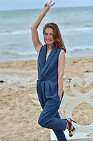 CABOURG, FRANCE - JUNE 15: Actress Camille Chamoux attends 'le ciel etoile au-dessus de ma tete' photocall during the 2nd day of 31st Cabourg Film Festival on June 15, 2017 in Cabourg, France # FESTIVAL DE CABOURG