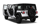 Car images close up view of a 2020 Jeep Wrangler Unlimited Sport S 5 Door SUV doors