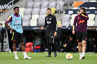 25th May 2021; Gdansk, Poland; Manchester United training at the Stadion Energa Gdańsk prior to their Europa League final versus Villarreal on May 26th;  MICHAEL CARRICK assistant manager