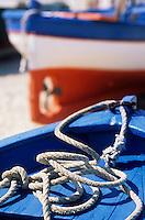 Europe/Italie/Calabre/Briatico : Barques de pêche sur le port