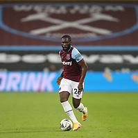 West Ham United's Arthur Masuaku<br /> <br /> Photographer Rob Newell/CameraSport<br /> <br /> Carabao Cup Second Round Northern Section - West Ham United v Charlton Athletic - Tuesday 15th September 2020 - London Stadium - London <br />  <br /> World Copyright © 2020 CameraSport. All rights reserved. 43 Linden Ave. Countesthorpe. Leicester. England. LE8 5PG - Tel: +44 (0) 116 277 4147 - admin@camerasport.com - www.camerasport.com